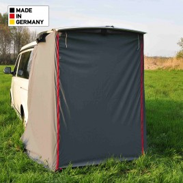 campend 2rv duschkabine bzw heckzelt f r vw t5. Black Bedroom Furniture Sets. Home Design Ideas