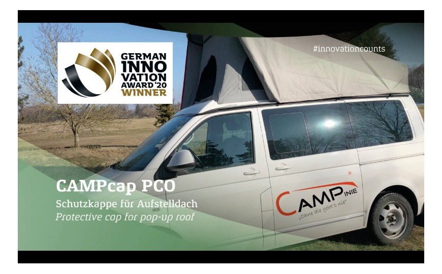 CAMPinie gewinnt German Innovation Award 2020