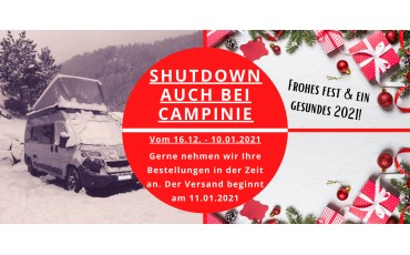 CAMPinie geht in den Shutdown