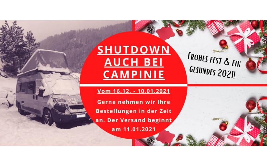 CAMPinie geht in den Shutdown